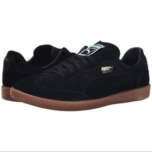 964fc50c1a53 Puma Shoes - Puma Super Liga Black Suede Sneakers Unisex